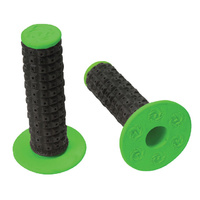 TORC1 Racing Enduro Dual Compound MX Grips Black/Green