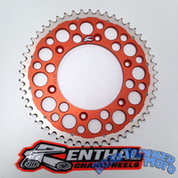 Renthal Twinring orange rear sprocket 48t KTM