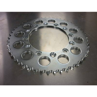 JT Steel Rear sprocket steel 42t Honda CR CRF