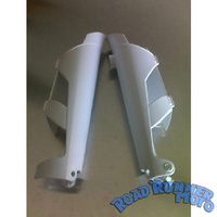 KTM fork covers guards white
