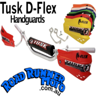 Tusk MX Hand Guards With Hardware - Blue