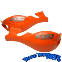 Barkbusters Ego covers KTM orange