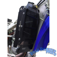 Force radiator guards black Yamaha WR WRF 450 4st EFI 2012-2015