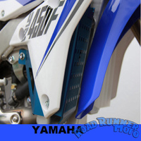 Force radiator guards Blue Yamaha WR250F YZ250FX 15-18 WR450F YZ450FX 16-18
