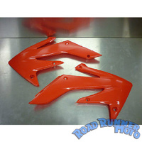 Radiator shrouds red Honda