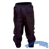 Waterproof pants black Large
