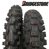 TRAIL RIDERS TYRE PACKAGE Bridgestone X20 80/100-21 Front & X30 110/100-18 Rear