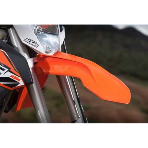 UFO Front fender orange KTM 14-16 DNR